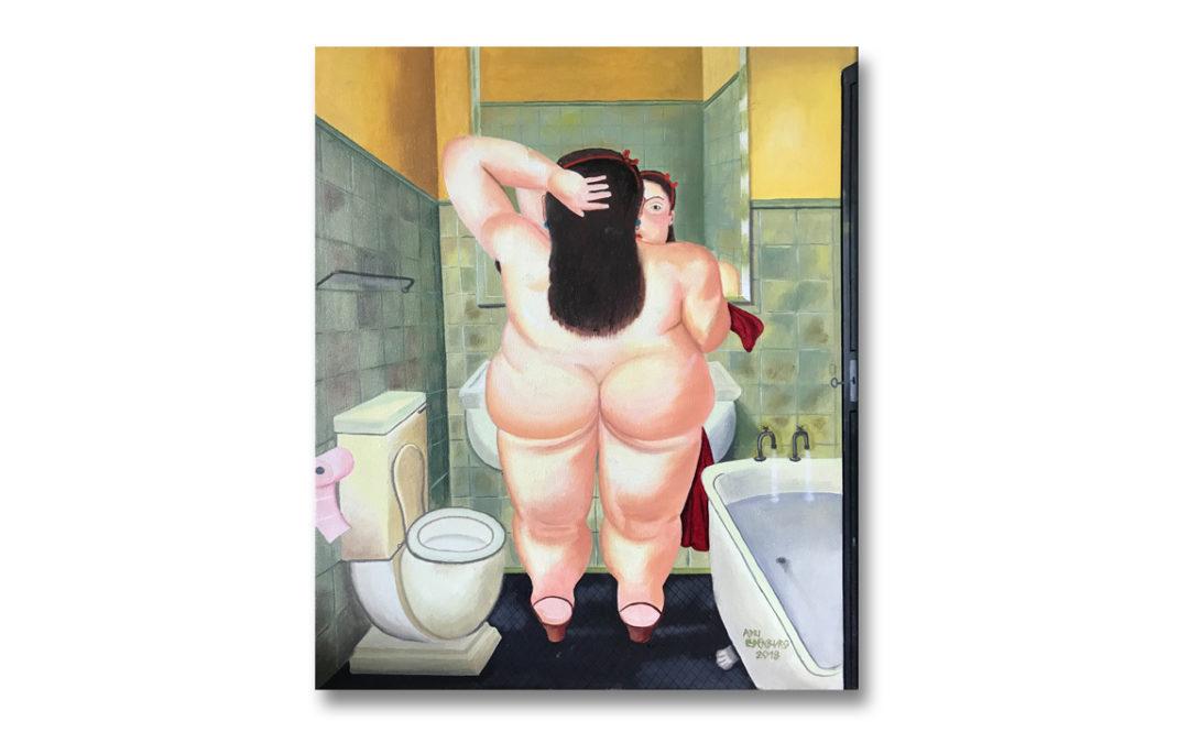2019 – Bath (copie Botero)