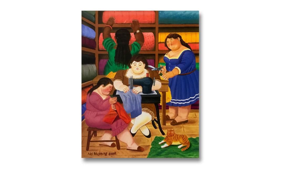 2008 – Naaiatelier (copie Botero)